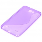 Protective TPU Case for Samsung Galaxy Note i9220 - Translucent Purple