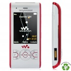 "Sony Ericsson W595 Walkman GSM Phone w/ 2.2"" LCD Screen, FM and JAVA - White (Refurbished)"