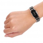 Ceramic Wrist Quartz Watch for Woman - Black + Silver (1 x 377)