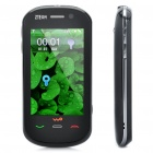 "ZTE E850 3G WCDMA Cell Phone w/ 2.8"" Touch Screen, FM and Java - Black"