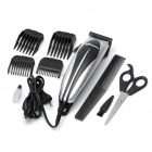 JINGHAO 10W Hair Trimmer Clipper w/ Accessories Set (AC 230V / EU Plug)