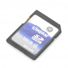 Genuine Kingston SDHC Flash Memory Card - 16GB (Class 4)