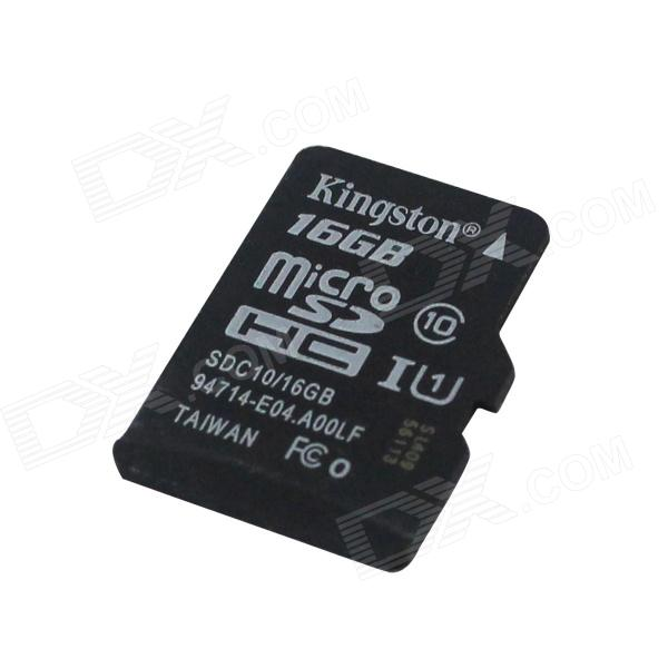Genuine Kingston Micro SDHC Class 10 TF Card (16GB)