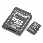 Genuine Kingston Micro SDHC TF Card with SD Adapter (8GB / Class 4)
