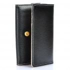 Wallet Style Protective Leather Case Bag for Iphone 4/4S/3GS