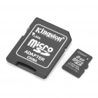 Genuine Kingston Micro TF Card with SD Adapter (2GB)