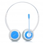 Bluetooth V2.1+EDR A2DP Stereo Handsfree Headset w/ Microphone - White (10-Hour Talk)