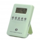 "1.6"" LCD Digital Desktop Thermometer Humidity - Green (1 x AAA)"