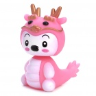 Spring Shaking Head Baby Dragon Feature Display Toy - Pink