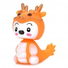 Spring Shaking Head Baby Dragon Feature Display Toy - Orange