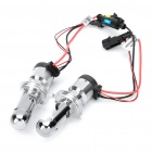 H4-3 35W 6000K 3600-Lumen White Light HID Headlamps Kit (DC 12V / Pair)