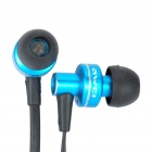 AWEI ES900i Stylish In-Ear Earphone w/ Microphone for Iphone 4 - Blue (3.5mm-Plug / 125cm-Cable)