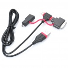 PowerSync USB 2.0 to Mini USB / Micro USB Cable w/ Mini 8pin / Apple 30pin Adapter (90cm)