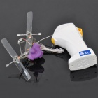 Wired R/C Flying Robot - Purple (1.4m-Cable / 4 x AA)