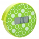 "Genuine JACAL Poised Concept Body Scale w/ 2.4"" LCD Display (1 x CR2032 / Green)"