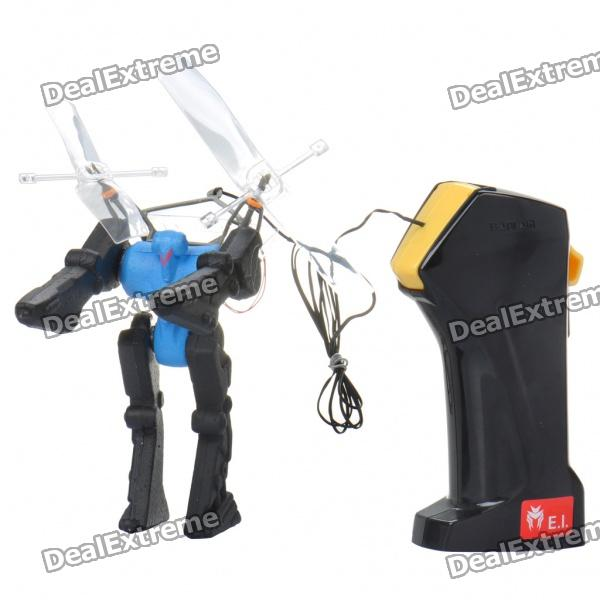 Wired R/C Flying Robot - Blue (1.4m-Cable / 4 x AA)