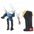 Wired R / C Fliegen Robot - Blue (1,4 m-Kabel / 4 x AA)