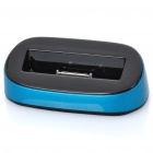 USB Charging Dock Station w/ USB Cable for iPhone 4 / 4S - Blue