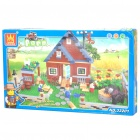 Intellectual Development DIY 3D Farm Toy Bricks Puzzle Set (719-Piece)