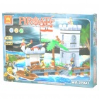 Intellectual Development DIY 3D Pirate Castle Toy Bricks Puzzle Set (349-Piece)