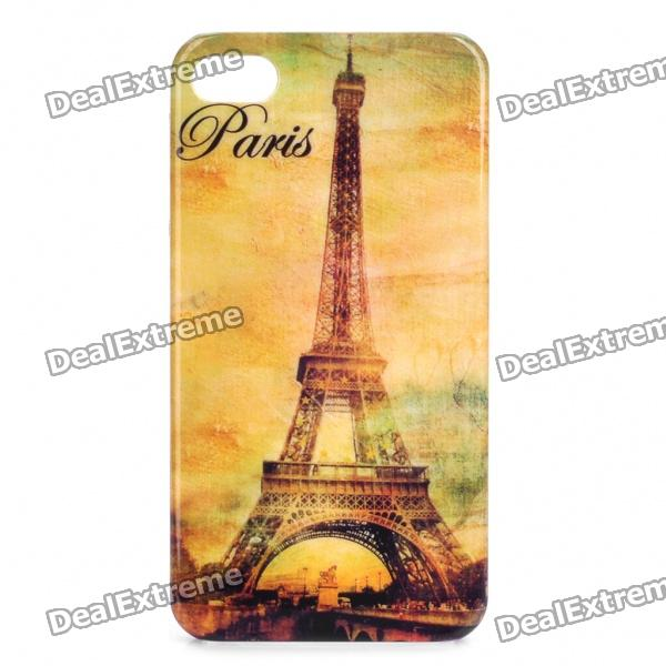 Eiffel Tower Pattern Protective Plastic Case for Iphone 4/4S от DX.com INT