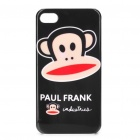 Protective Paul Frank Pattern Plastic Case for iPhone 4/4S - Black