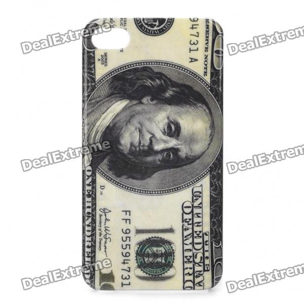 Protective 100 Dollar Style Plastic Case for Iphone 4/4S от DX.com INT