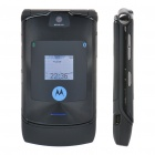 "Refurbished Motorola RAZR V3i GSM Flip Phone w/ 2.2"" LCD Screen, Quadband and Java - Black"