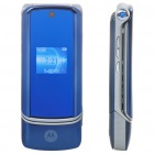 "Refurbished Motorola KRZR K1 GSM Flip Phone w/ 1.9"" LCD Screen, Quad-Band and JAVA - Blue"