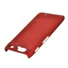 Protective Plastic Case for Motorola RAZR/XT910 (Red)
