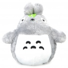 Cute Long Plush Totoro Toy Doll - Grey + White