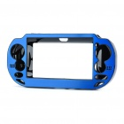 Protective Aluminum Cover Plastic Case for PS Vita - Blue