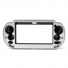 Protective Aluminum Cover Plastic Case for PS Vita - Silver