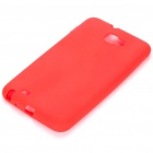Protective Soft Silicone Case for Samsung Galaxy Note i9220 - Red