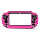Protective Aluminum Cover Plastic Case for PS Vita - Deep Pink