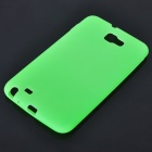 Protective Soft Silicone Case for Samsung Galaxy Note i9220 - Green