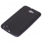 Protective Soft Silicone Case for Samsung Galaxy Note i9220 - Black
