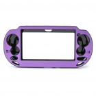 Protective Aluminum Cover Plastic Case for PS Vita - Purple