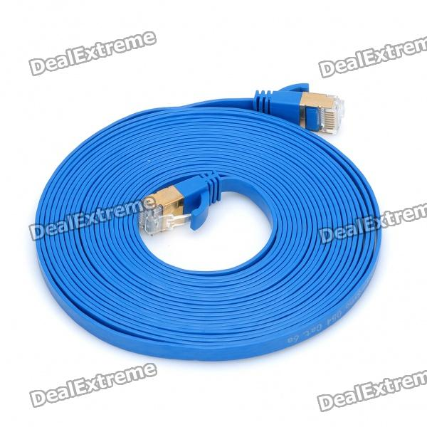 PowerSync CAT6A RJ45 High Speed Ethernet Cable (500cm) vention high speed utp cat 6 rj45 connector ethernet cable flat gigabit network cable rj45 patch lan cord for pc laptop router