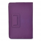 Protective PU Leather Case for Kindle Fire - Purple