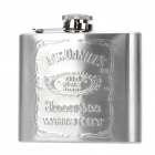 Stainless Steel Curved Pocket Liquor Flask (5.0 oz)