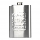 Stainless Steel Curved Pocket Liquor Flask (8.0 oz)