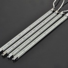 Waterproof 1.2W 6500K 420LM 15-LED White Light Strips (4-Piece Pack)