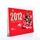 DX 12-Beauty 2012 Desk Calendar with 12 Months' Coupon Codes