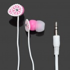 Stylish In-Ear Earphone - Pink (3.5mm-Plug / 100cm-Cable)