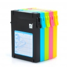 MUKII Colorful Protective Plastic Cases for 2.5