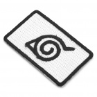 Naruto Konoha Logo Non-Stick Cloth Patch DIY Cosplay Ornament