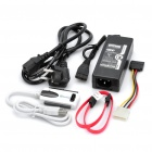 USB 2.0 to SATA/IDE Adapter Cable w/ Power Adapter (50cm)