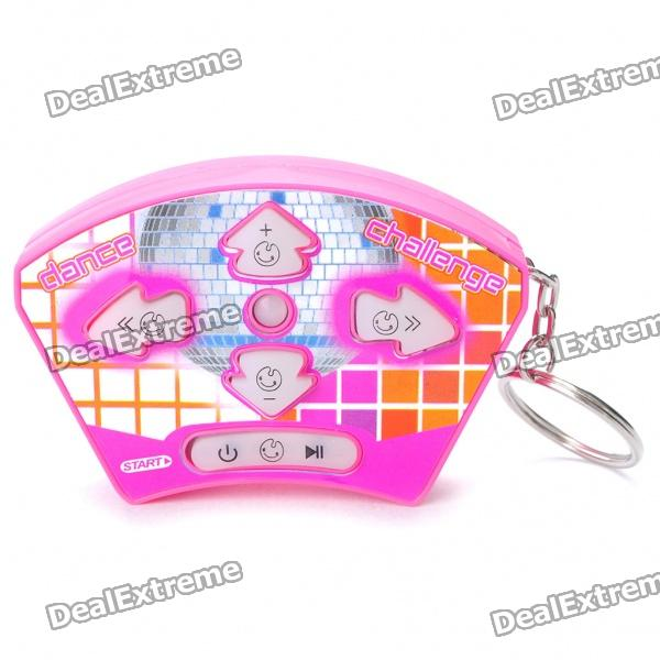 Mini Handheld Dance Challenge Stress Relieving Game Keychain (3 x AG13) от DX.com INT