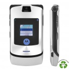"Refurbished Motorola RAZR V3i GSM Flip Phone w/ 2.2"" LCD Screen, Quadband and Java - Silver"